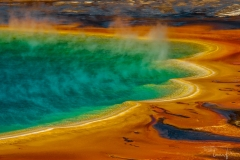 MIDWAY GEYSER BASIN-GRAND PRISMATIC SPRING
